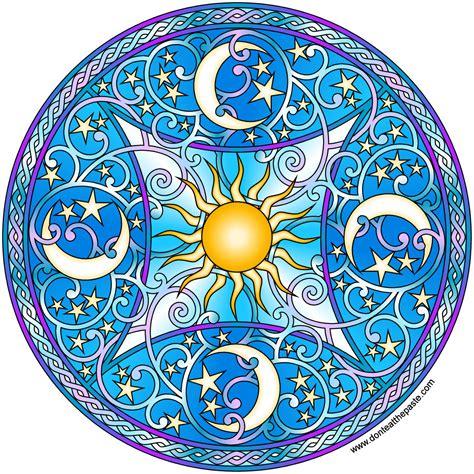 mandala coloring book celeste don t eat the paste celestial mandala 2016