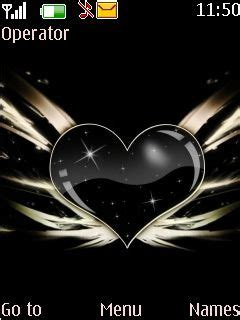 love themes s40 download black carbon love s40 theme nokia theme mobile