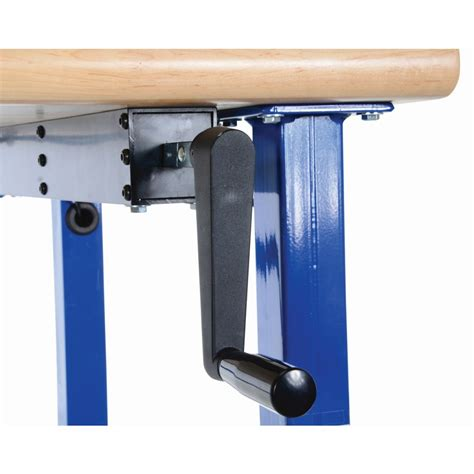 ergonomic work benches vestil ewb 6030 manual adjustable ergonomic work bench
