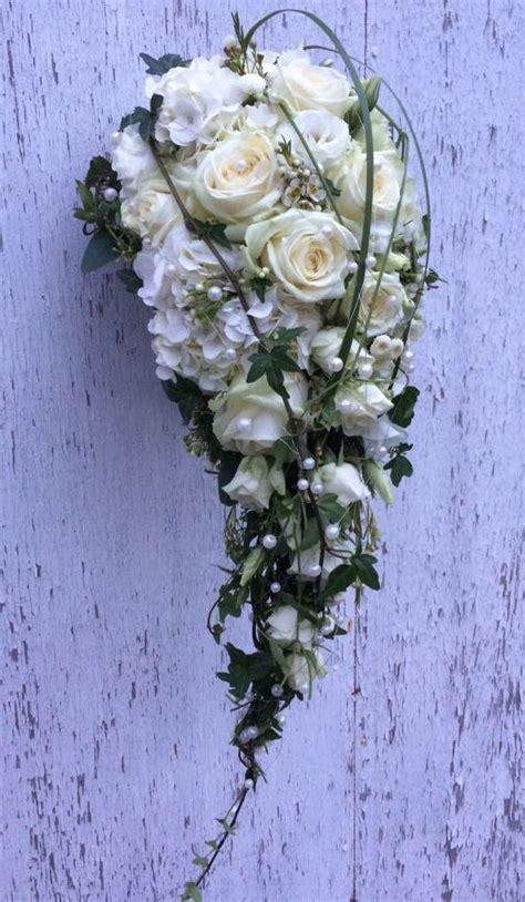 Hochzeitsstrauß Selber Binden by Milles Fleurs Brautstrau 223 Wasserfall 5 Brautstrauss