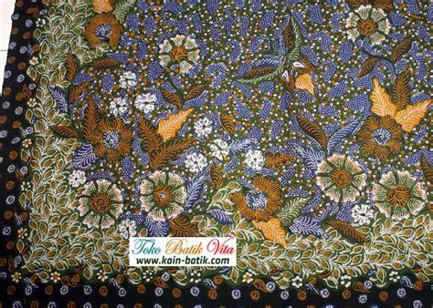 Mb Kain Batik Primis Halus batik tulis madura halus motif hokokai kbm 6561 kain batik murah