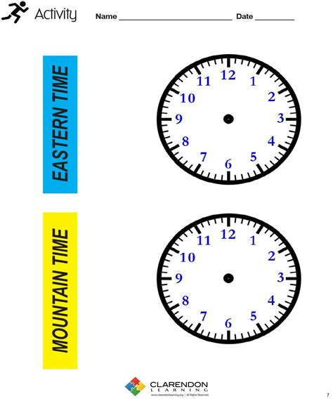 Time Zone Worksheet by 100 Time Zone Worksheets For 3rd Grade Oceans