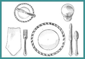 How To Set A Table by Gallery For Gt Proper Basic Place Setting