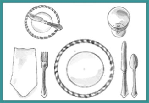 simple place setting simple dinner setting crowdbuild for