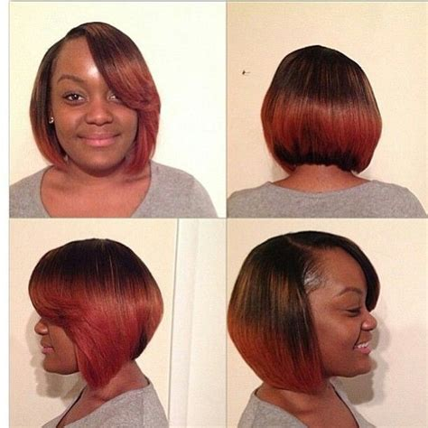 weave bob hairstyle with color color weave hairstyles 80564 beautiful fall color bob hai