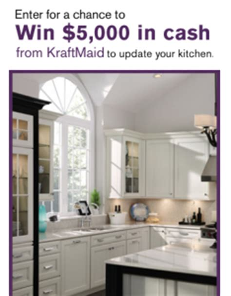 Hgtv Sweepstakes Kitchen - hgtv kraftmaid kitchen inspiration sweepstakes win 5 000