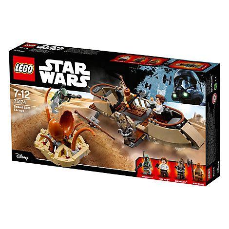 skiff escape lego lego star wars desert skiff escape set 75174