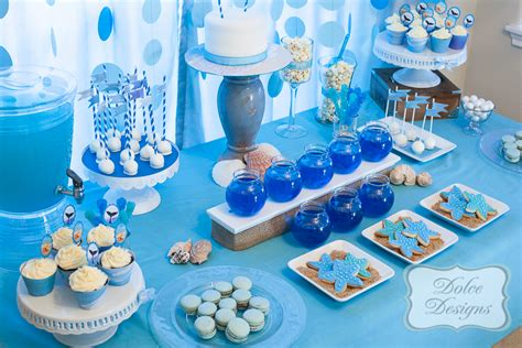 party themes with blue bella cupcake couture 187 blog archive ocean blue theme
