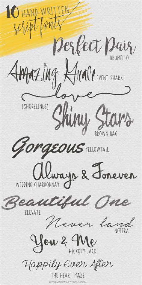 Wedding Running Fonts by 10 Must Written Script Fonts Free Fonts