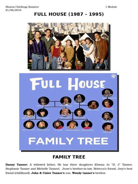 full house family tree full house family tree