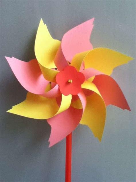 How To Make Wind Fan With Paper - girandole fai da te bambini foto 5 39 mamma pourfemme