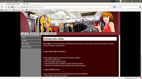 membuat toko online berbasis web aplikasi toko online berbasis web dengan php dan mysql dum17