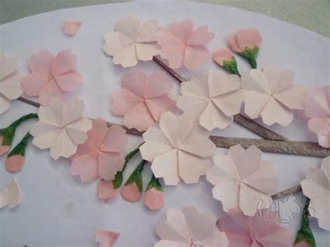 Origami Cherry Blossoms - origami maniacs origami cherry blossom