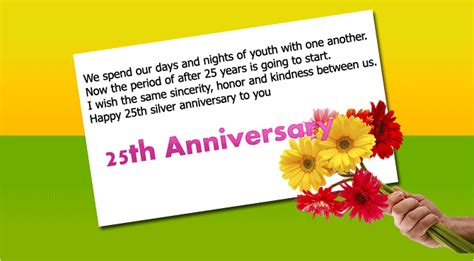 25th Anniversary Messages To by 101 Happy Anniversary Wishes For Parents Best Quotes