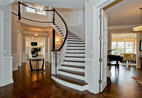Home Foyer photos of luxury home foyers by heritage luxury builders