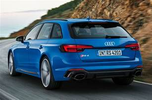 new audi rs4 avant unveiled with 125lb ft torque boost