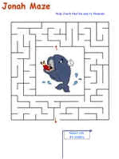 The Of Fish And Other Story Story Mazes Activity Book jonah maze