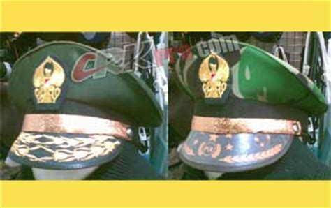 Sepatu Pdh Jendral topi pet polisi polri tni dinas galon emas pita emas
