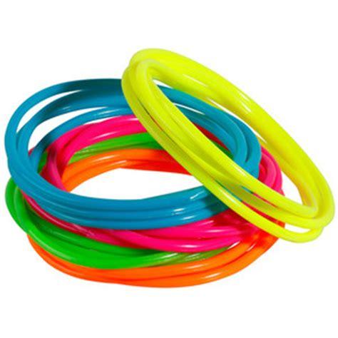 s 20 pk neon jelly bracelet set polyvore