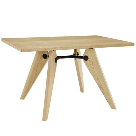 grove wood square dining table modern furniture