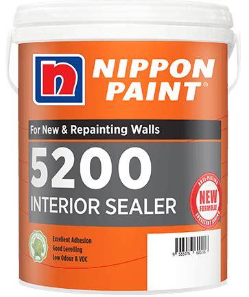 5400 Wall Sealer nippon paint malaysia home decor renovation decoration