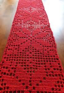sale table runner crochet doily crochet
