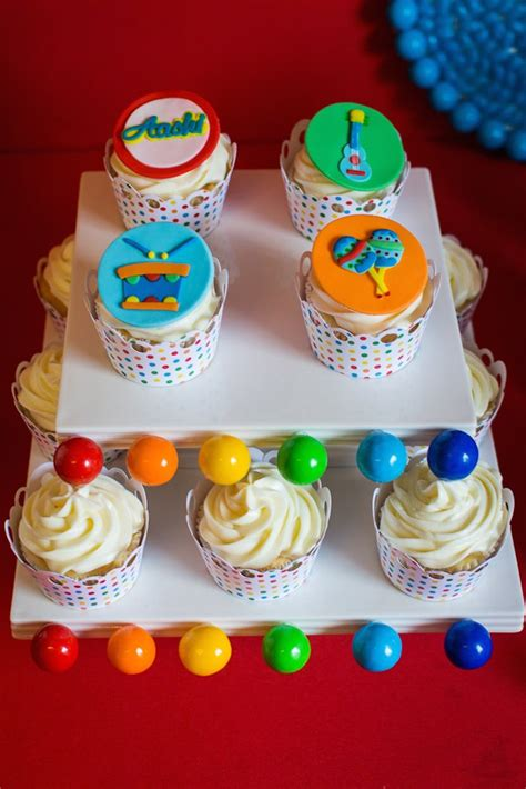 1st Birthday Giveaways Ideas - kara s party ideas baby jam musical themed 1st birthday party via kara s party ideas