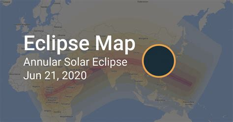 map  annular solar eclipse  june