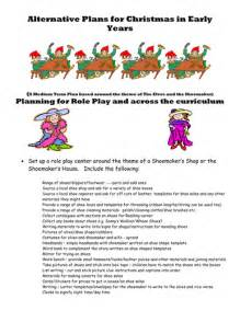 Play thematic plan for story of the elves and the shoemaker lt br gt