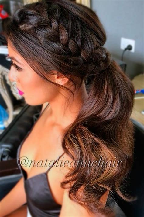 dressy ponytail hairstyles low side ponytail formal hairstyles hairstyles ideas