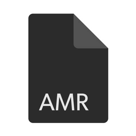 Format File Amr   format extension file amr icon