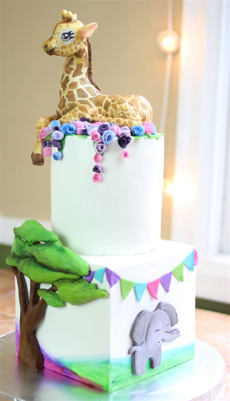 jungle theme baby shower cake jungle theme baby shower cake cakecentral
