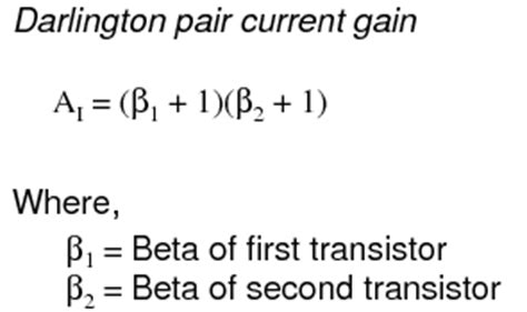 darlington transistor current gain the common collector lifier bipolar junction transistors electronics textbook