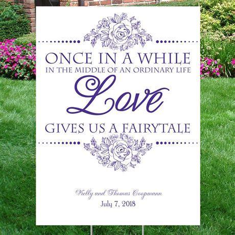 wedding yard signs tale yard sign invitations by