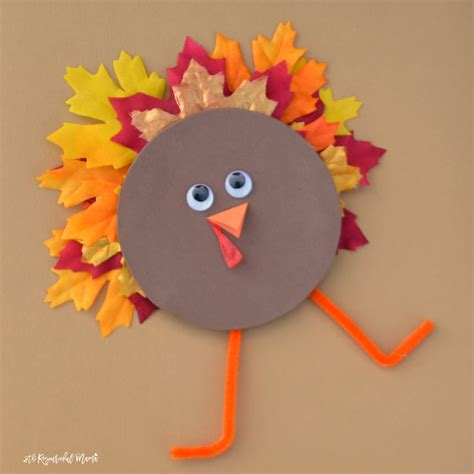 crafts for recycled cd turkey kid craft the resourceful