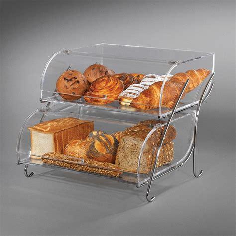 rosseto bak2937 2 tier countertop bakery display