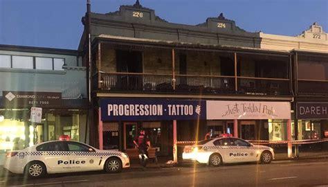 tattoo parlour adelaide cbd fire rips through adelaide tattoo parlour fiveaa