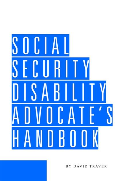 Search Handbook For With Disabilities Social Security Disability Advocate S Handbook