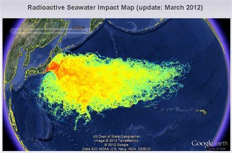 fukushima fallout usa map fukishima the ticking time bomb paranormal