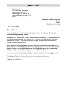 exemple de lettre de motivation mod 232 le de lettre de