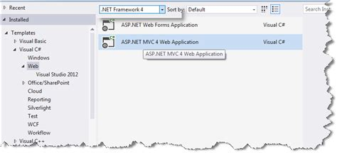 Asp Net Mvc This Template Attempted To Load Component Assembly Microsoft Visualstudio Web Asp Net Web Site Template Visual Studio 2012