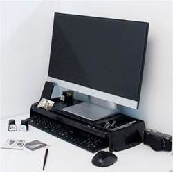 Laptop Cradle Desk Led Lcd Monitor Stand Cradle Desk Organizer Office Various Storages Computer New Ebay