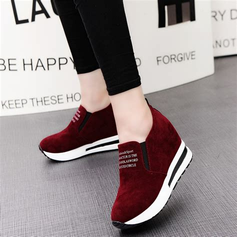 best high heels for flat platform wedge shoes casual flat sneakers