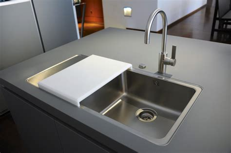 kitchen simple modern undermount sink design modern