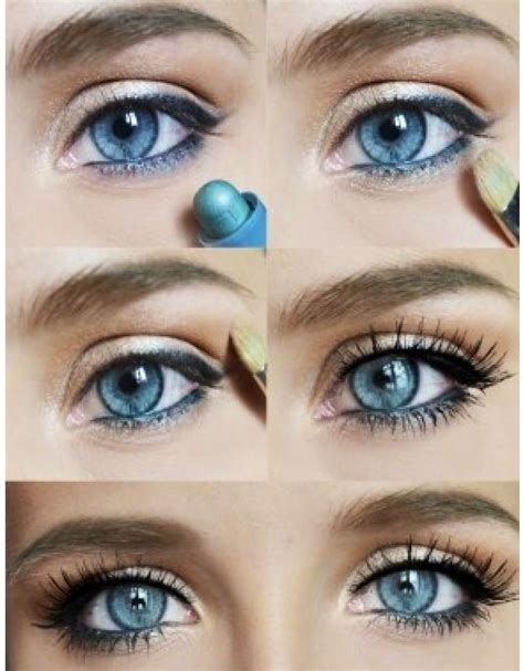 eyeliner tutorial natural look 12 chic blue eye makeup looks and tutorials pretty designs
