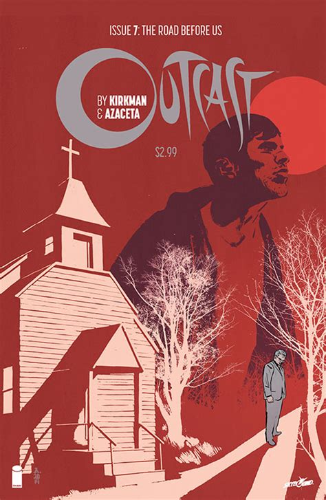 whispers of book iii of the outcasts series volume 3 books kirkman discusses horror comic outcast s transition to tv