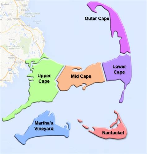 map cape cod intergroup - Aa Cape Cod