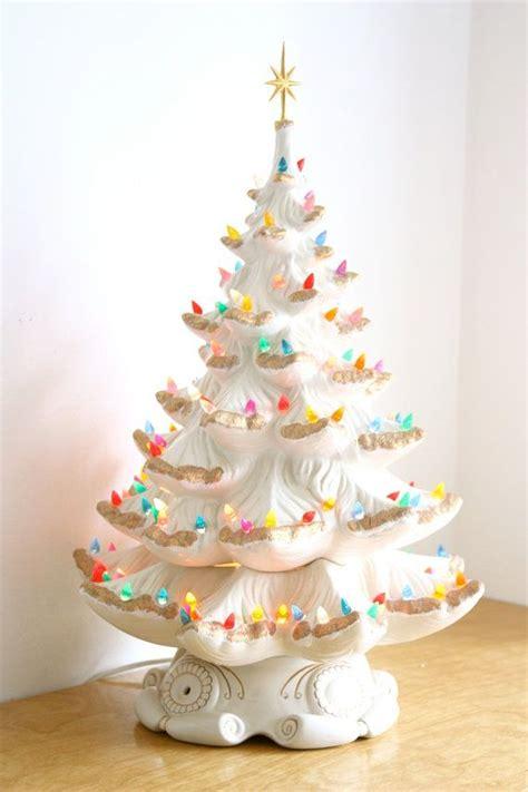 electric ceramic christmas tree with lights large vintage ceramic tree electric vintage ceramic tree ceramic