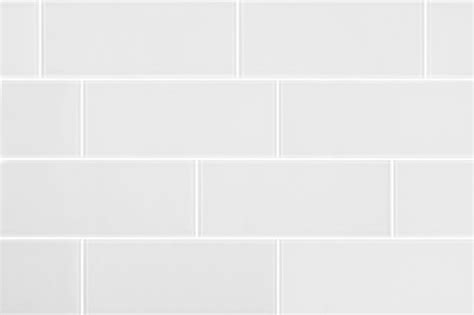 subway tiles white 3 quot x8 quot matt white glass subway tiles set of 6