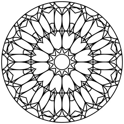 mandala template 20120221 qh mandala template 020 01 by quasihedron on